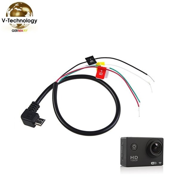 Audio Video Micro USB AV Kabel FPV SJCAM HD Cam SJ4000 Sj5000