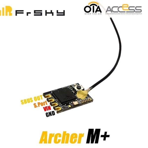 FrSky Empfänger Archer M+ 2.4GHz ACCESS mini Full range Mini Racing Drone