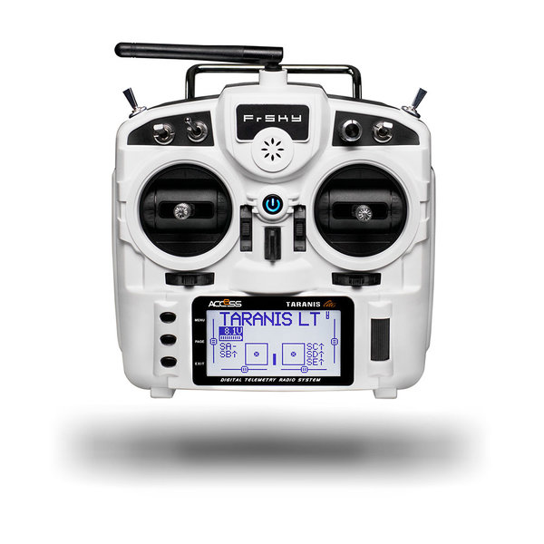 FrSky 24CH Taranis Sender Transmitter X9 Lite Radio White Support ACCESS und D16 Mode